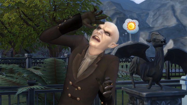 Screenshot de The Sims 4 : Vampires