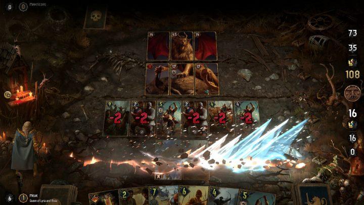 Screenshot de Thronebreaker : The Witcher Tales