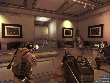 Screenshot de Tom Clancy's Rainbow Six : Lockdown