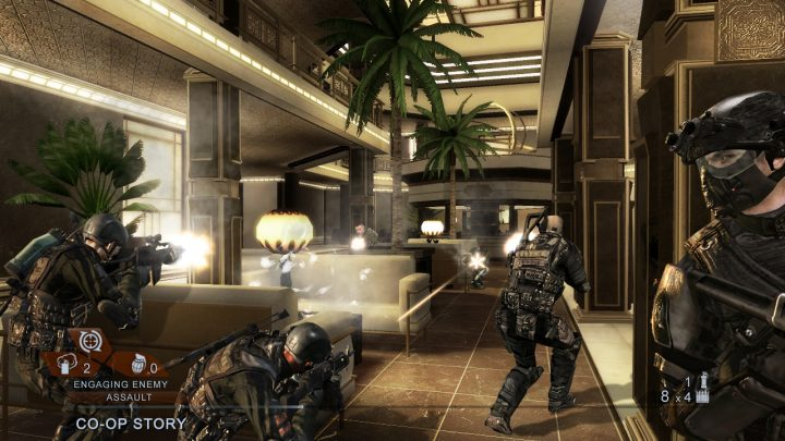 Screenshot de Tom Clancy's Rainbow Six : Vegas 2