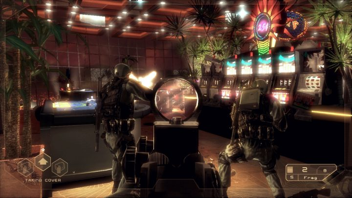 Screenshot de Tom Clancy's Rainbow Six : Vegas