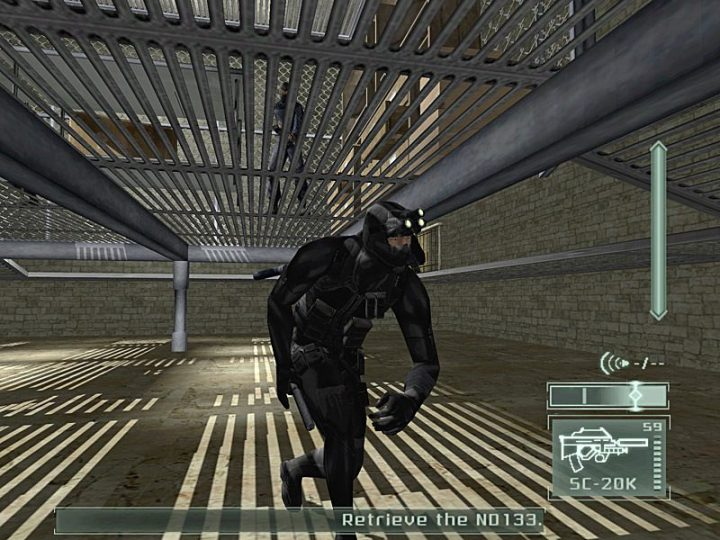Screenshot de Tom Clancy's Splinter Cell : Pandora Tomorrow