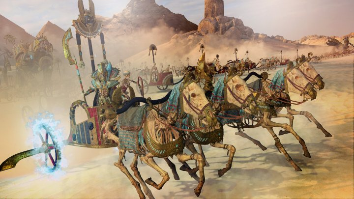 Screenshot de Total War : WARHAMMER II – Rise of the Tomb Kings