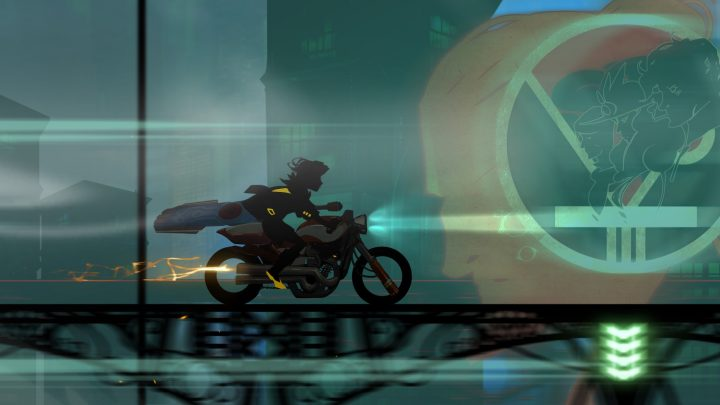 Screenshot de Transistor