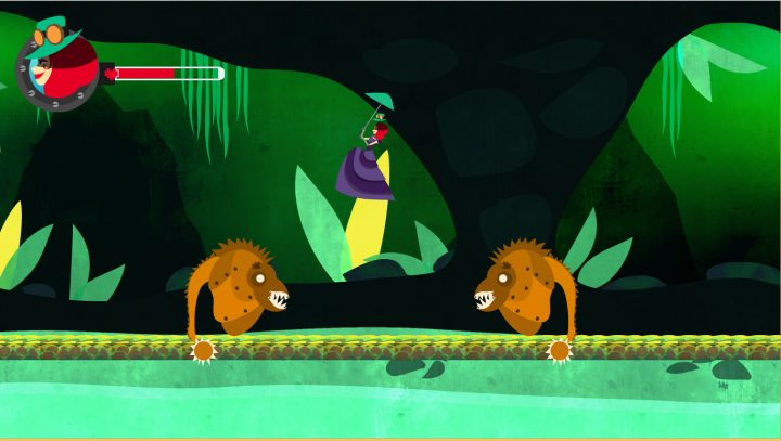 Screenshot de Vanquish : The Adventures of Lady Exton