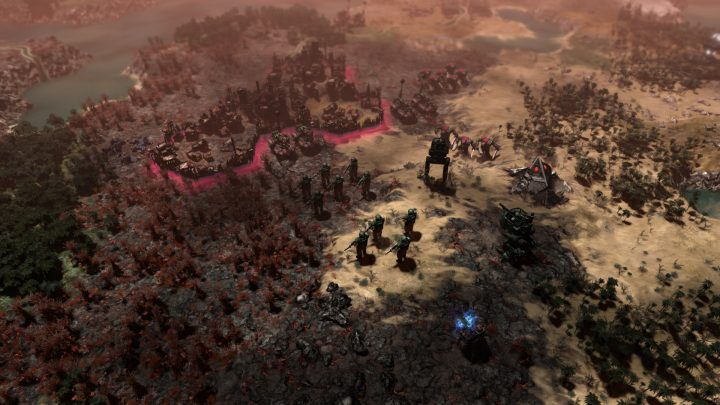 Screenshot de Warhammer 40,000 : Gladius – Relics of War
