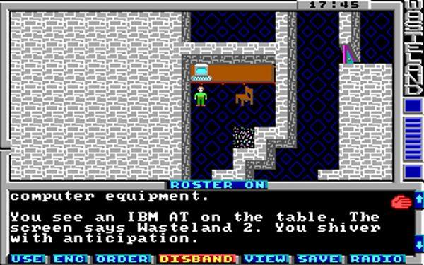 Screenshot de Wasteland