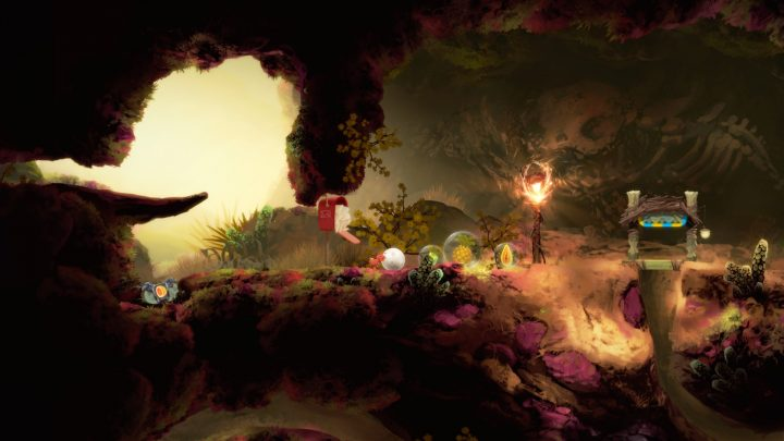 Screenshot de Yoku's Island Express